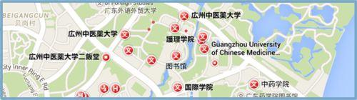guangzhou tcm  MAP