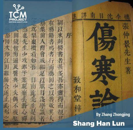 Shang han lun tcm book