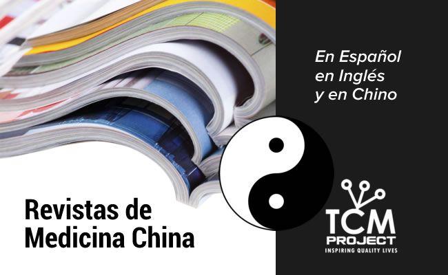 Recopilación de 14 revistas disponibles sobre Medicina Tradicional China en español, inglés y Chino: Online y Offline