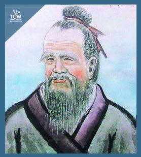 Qi Bo 岐伯 . Ministro y médico de la corte que responde a las preguntas del Emperador Amarillo.