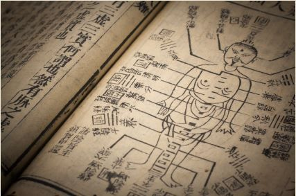ancient moxibustion china