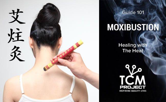 moxibustion y moxa medicina china