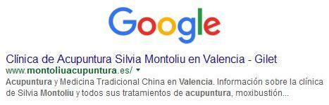 google primera pagina